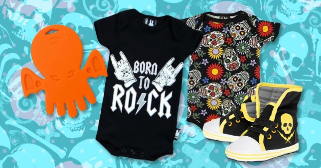 cf8f90a3 10 alternative baby gifts for the goth baby in your life | Metro News