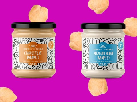 This vegan mayo is made with waste water from hummus factories