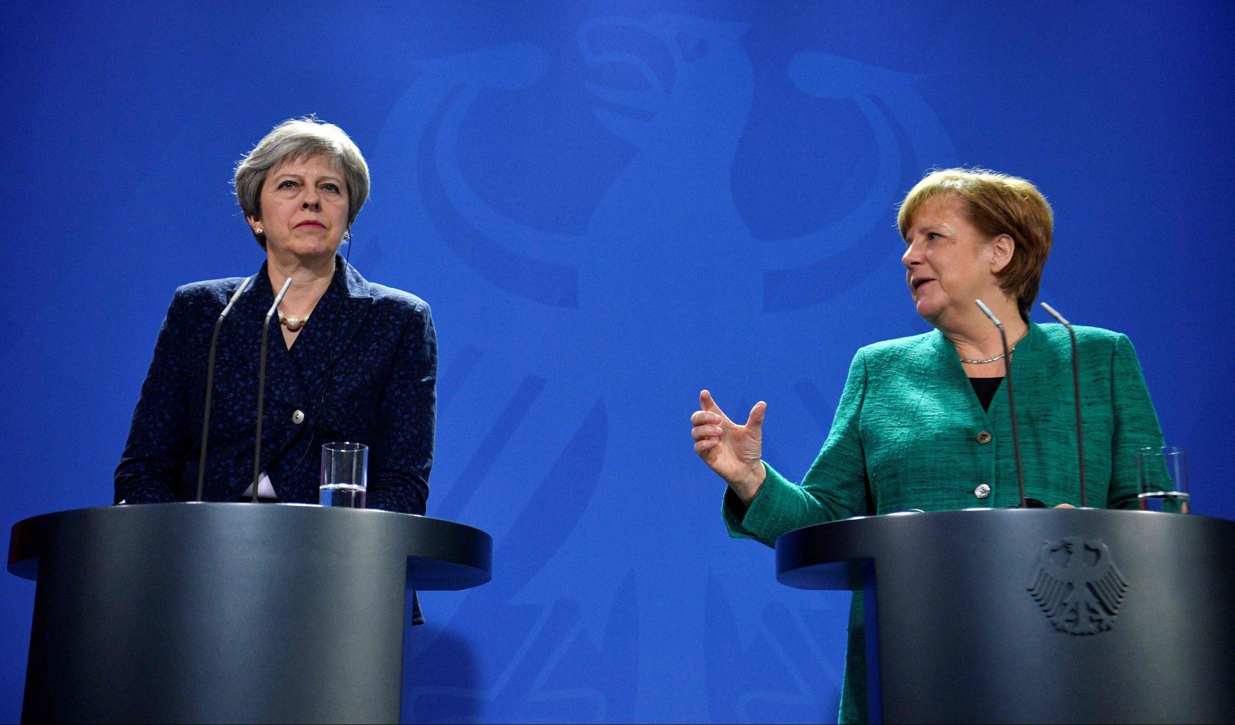 Angela Merkel says Germany 'deplores' Brexit