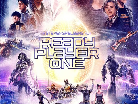 Steven Spielberg's Ready Player One official poster has landed and we can't wait to play