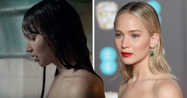 Jennifer Lawrence naked scenes for Red Sparrow were 'actual