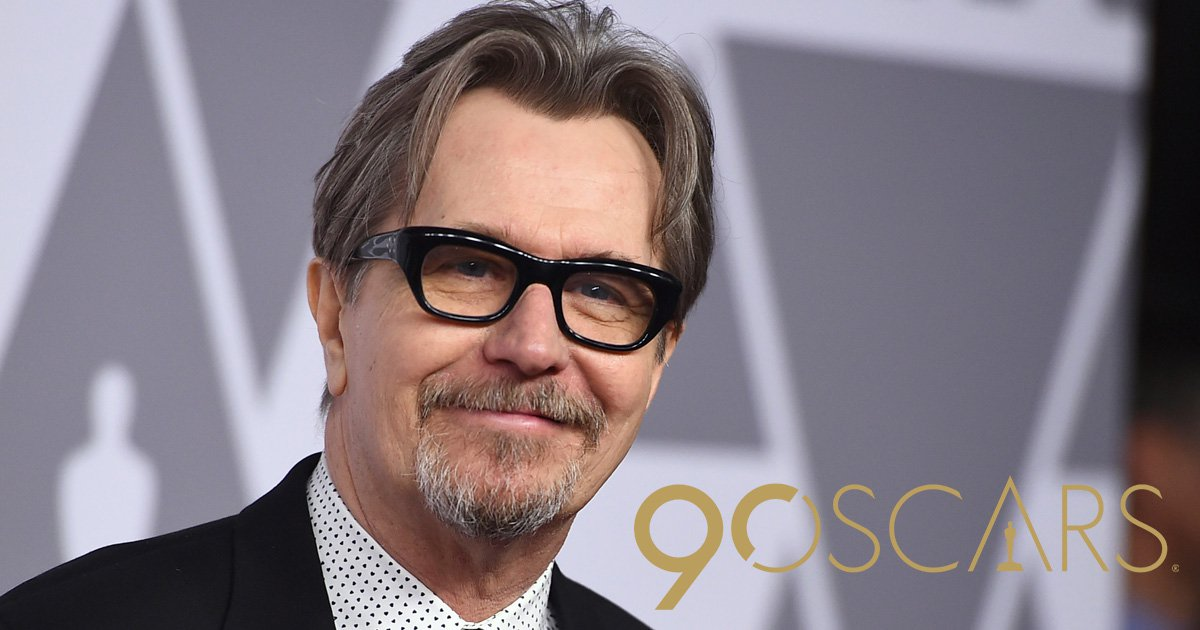 Oscar voter says he'd vote for Gary Oldman even if 'he hit his wife with a phone'