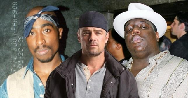 Josh Duhamel, Tupac and Biggie Smalls