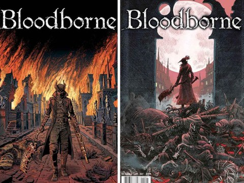 Good news for Bloodborne fans awaiting a sequel to game as Hunter gets a grisly comic book series