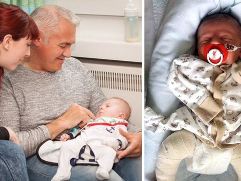 Baby born with bones so fragile he broke a rib in the womb