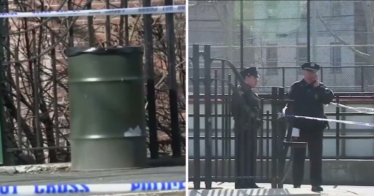 Newborn baby boy found dead in New York children's playground bin