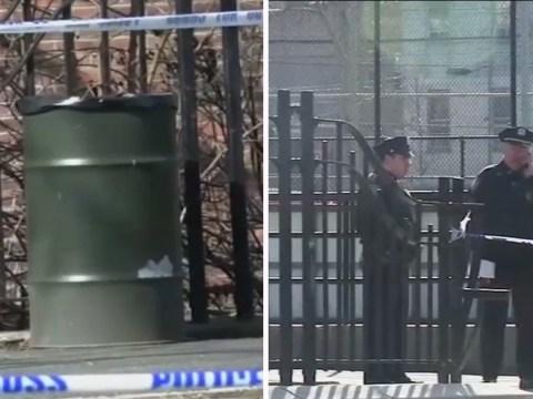 Newborn baby boy found dead in New York children's playground bin