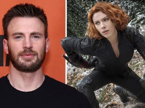 Chris Evans lets slip that Marvel are actually making a Black Widow film as he gets caught in Black Panther hype