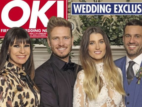 Emmerdale's Matthew Wolfenden and Charley Webb get married in surprise wedding