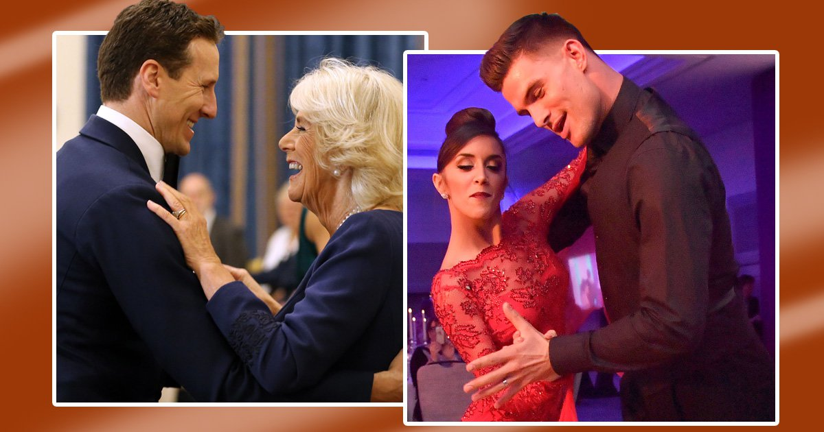 Strictly Come Dancing's Janette Manrara says Camilla 'seemed happy' to waltz with Brendan Cole