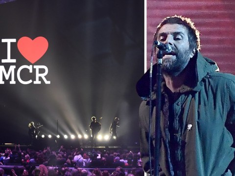 Brit Awards stand for 'beautiful' Manchester terror attack tribute led by Liam Gallagher