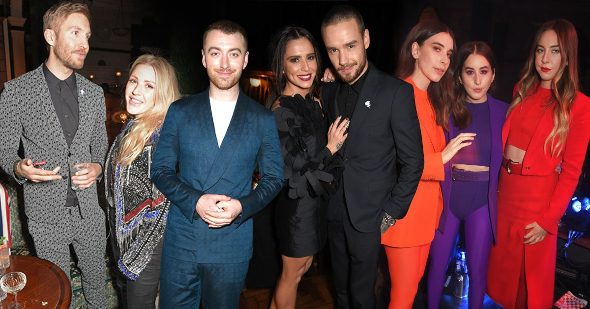 A-listers take R Kelly's words to heart as they party at Universal's Brits after-party