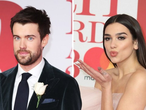 Jack Whitehall and Dua Lipa celebrate Brits success by 'getting cosy' at after-party
