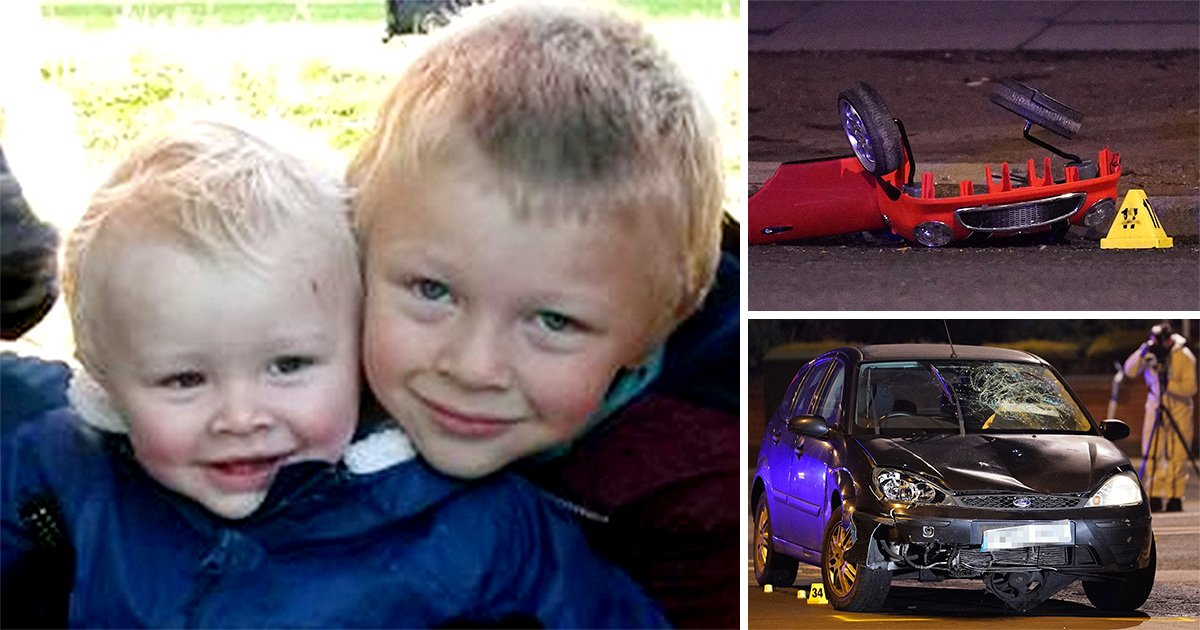 First pictures of brothers Casper and Corey Platt-May, 2 and 6, killed in 'hit and run' crash