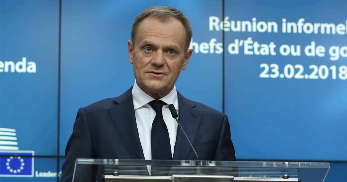 Donald Tusk warns UK Brexit plans still 'pure illusion'