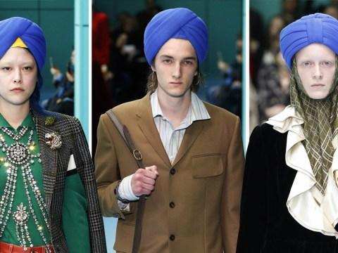 Dear Gucci, using a Sikh turban as a fashion accessory is not okay