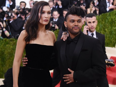 Bella Hadid shoots down talk she's back with The Weeknd as they're spotted 'kissing at Coachella'