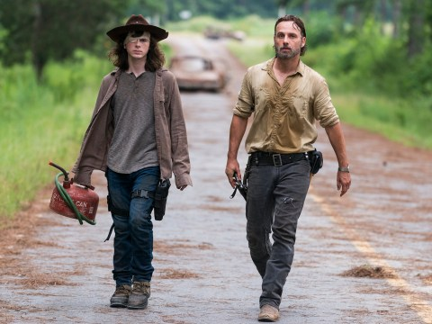 The Walking Dead's Chandler Riggs imagines what his character Carl would do without Rick Grimes