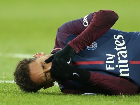 Neymar stretchered off in tears with Real Madrid clash looming