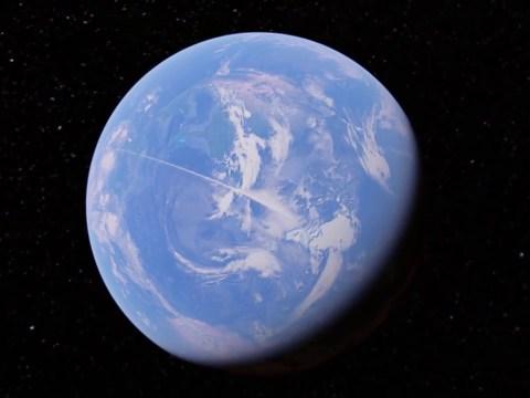 Alien hunter spots huge 'line' on Google Earth stretching 13,000 miles across the globe