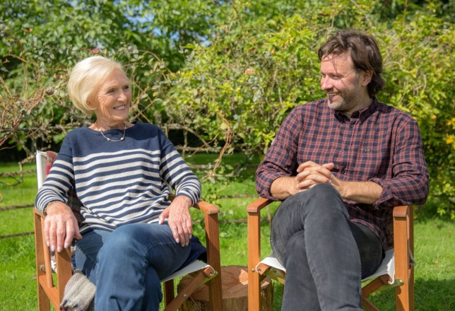 Programme Name: Classic Mary Berry - TX: 26/02/2018 - Episode: Classic Comforts (No. 1 - Classic Comforts) - Picture Shows: with Niklas Esktedt. Mary Berry - (C) Endemol Shine UK - Photographer: Production
