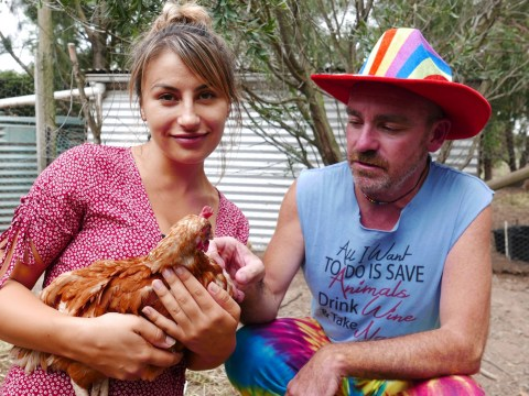 How battery chickens saved the life of a gay, suicidal man