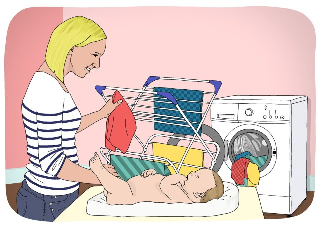 Why I decided to choose reusable nappies for both my children ? 500 words (Tola) Picture: Dave Anderson for Metro.co.uk