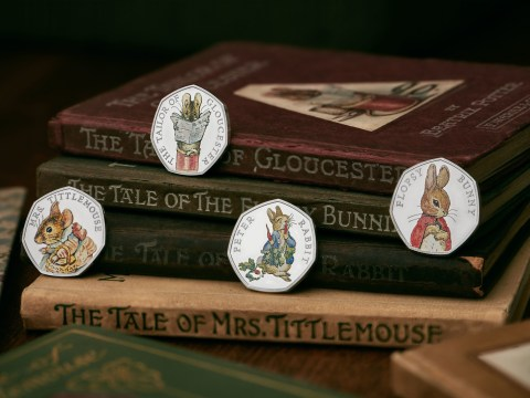 Beatrix Potter coins to be released by Royal Mint, featuring Peter Rabbit and friends