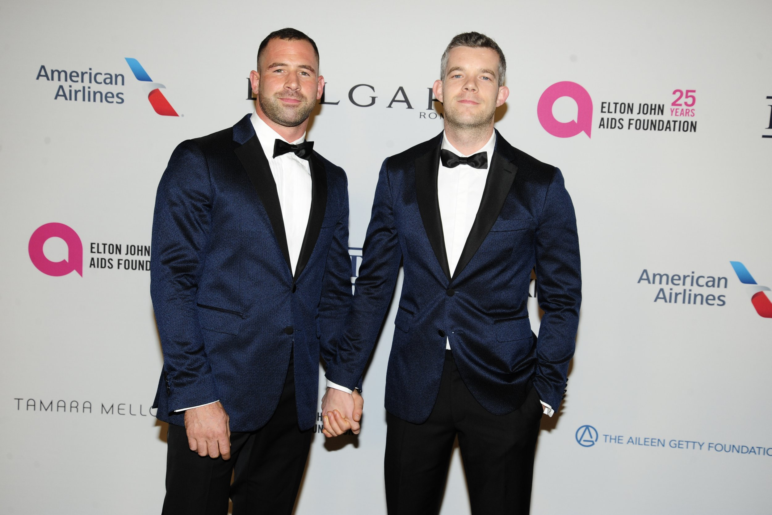 Russell Tovey announces 'completely unexpected' engagement to rugby player boyfriend Steve Brockland