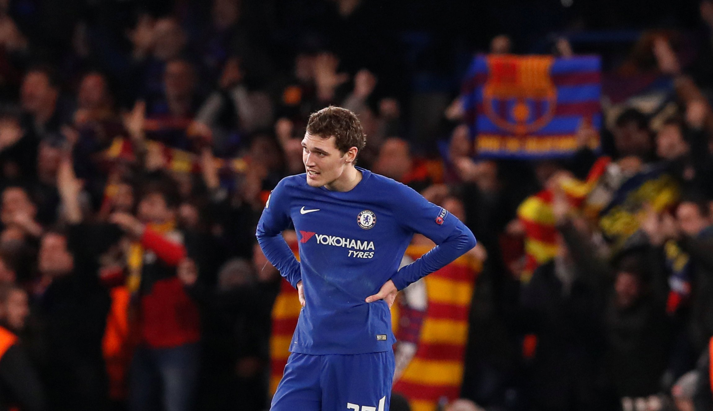 Andreas Christensen breaks silence on his mistake in Chelsea's draw against Barcelona