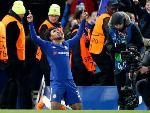 Willian unhappy to be stuck on the bench at Chelsea after Barcelona performance