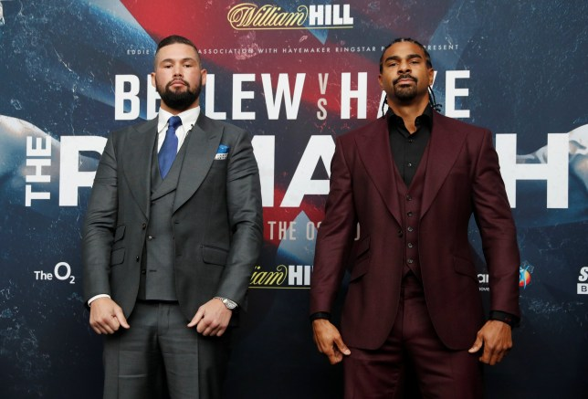 Bellew and Haye face off