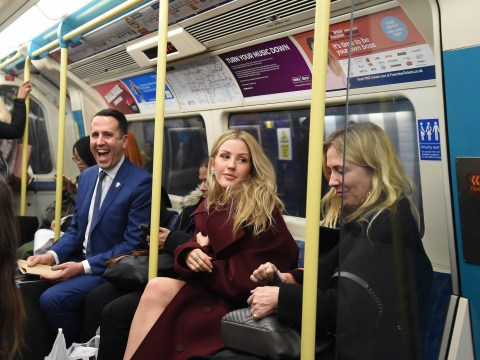 Ellie Goulding shocks commuters as she casually catches tubes to Brit Awards 2018