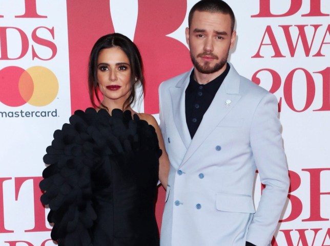 Cheryl and Liam at Brits