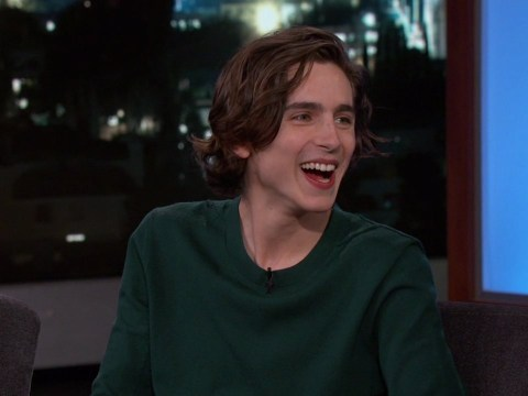 Timothee Chalamet worries he'll never escape Call Me By Your Name's peach scene