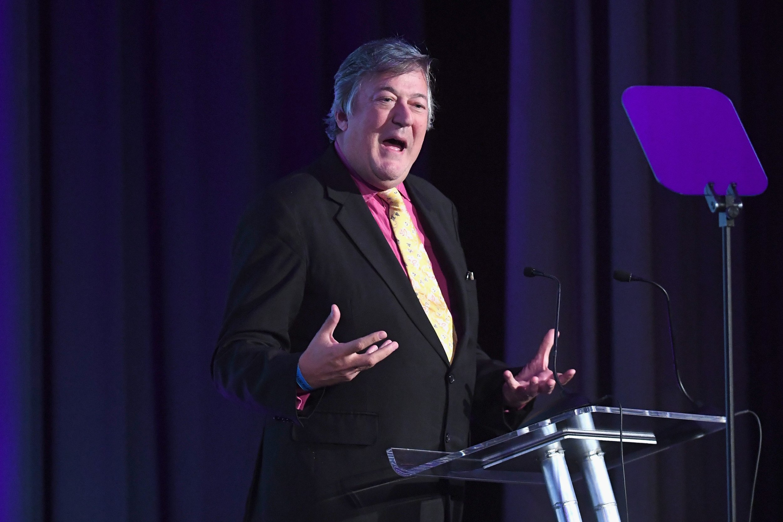 Stephen Fry urges 'men of a certain age' to have their prostates checked as he reveals cancer battle