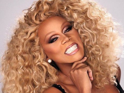 RuPaul is the first ever drag queen to land a star on the Hollywood Walk Of Fame