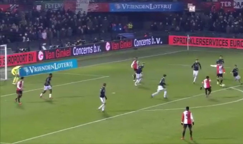 Robin van Persie scores first Feyenoord goal in 14 years just 50 seconds after coming on vs Groningen