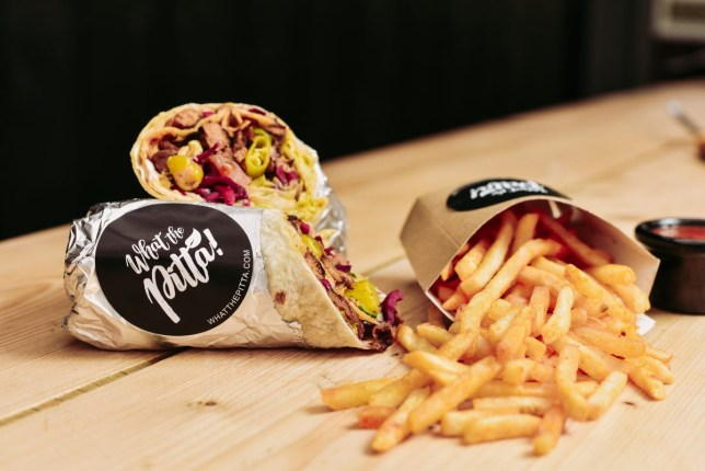 What the Pitta vegan kebab