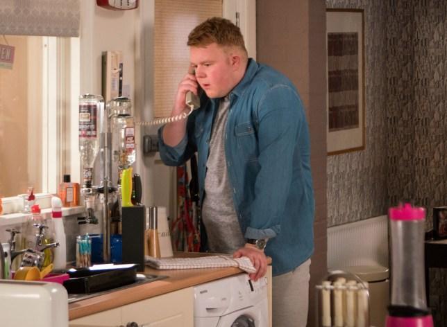 Colson Smith as Craig Tinker in Coronation Street