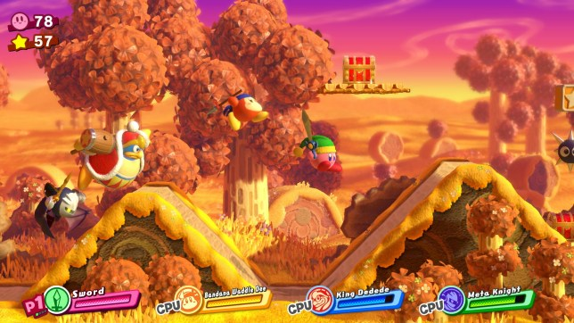 Kirby Star Allies (NS) - the bad guys don't stand a chance