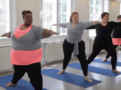 CurveSomeYoga is trying to get more plus size people downward dogging