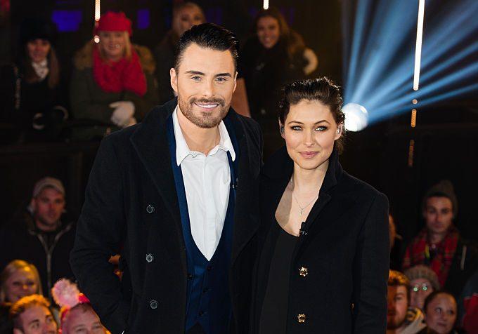 Rylan Clark and Emma Willis host Big Brother