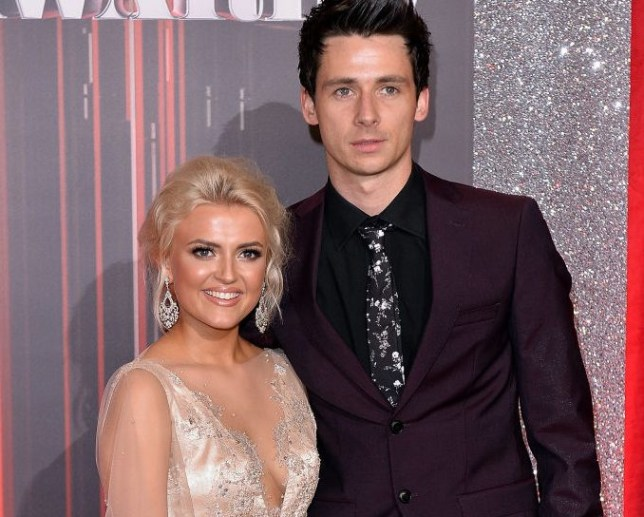 Lucy Fallon and Tom Leech