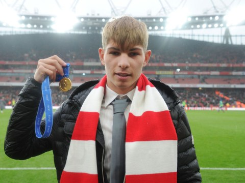Arsenal youngster Emile Smith-Rowe scores amazing free-kick, then reveals Man City player who inspired him