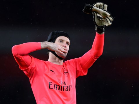 Petr Cech claims 200th Premier League clean sheet in Arsenal's win against Watford
