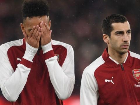 Arsenal's own sponsor troll Pierre-Emerick Aubameyang and Henrikh Mkhitaryan after Manchester City loss