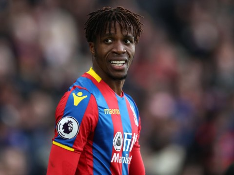 Wilfried Zaha could make return for Crystal Palace against Chelsea