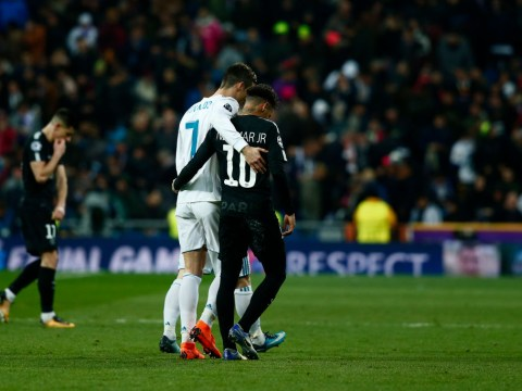 Neymar would get along very well with Cristiano Ronaldo at Real Madrid, says Casemiro