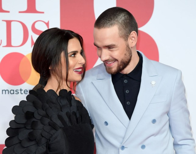 Cheryl and Liam Payne at Brits